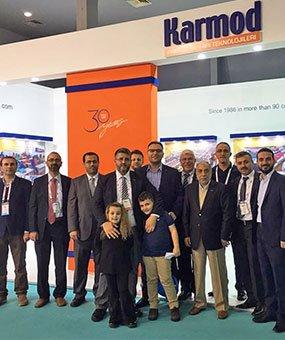 Karmod,ha dato il benvenuto ai suoi ospiti da 123 paesi a MUSCAT EXPO 2016.