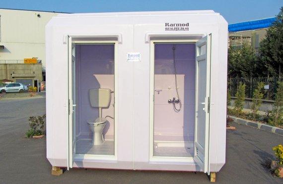 Cabina di doccia e WC portatile 150x270