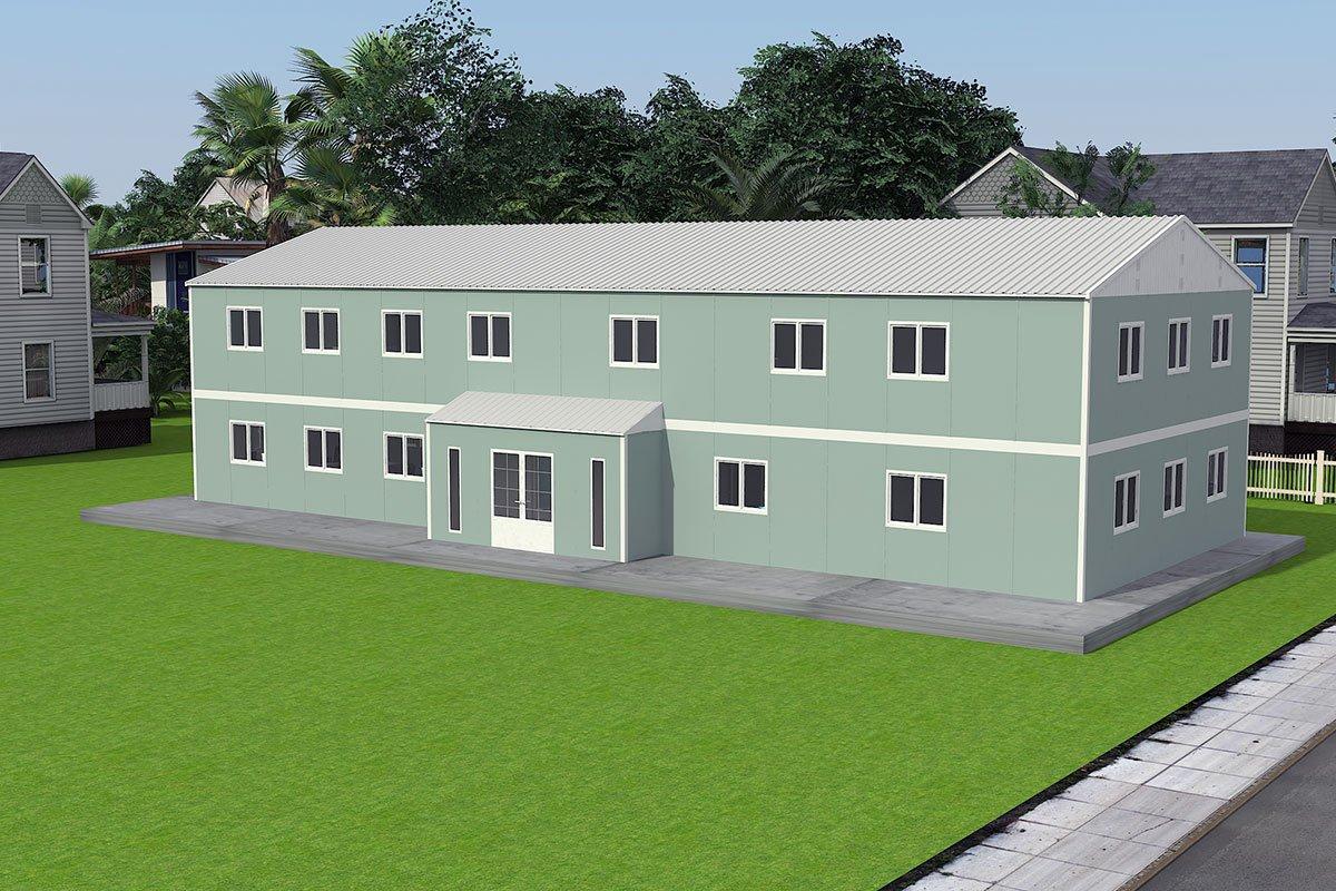 Edificio per uffici modulare di 415 m²