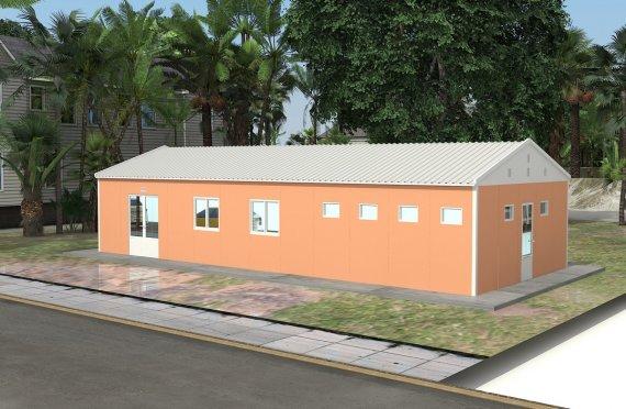 Caffetteria modulare 98 m²