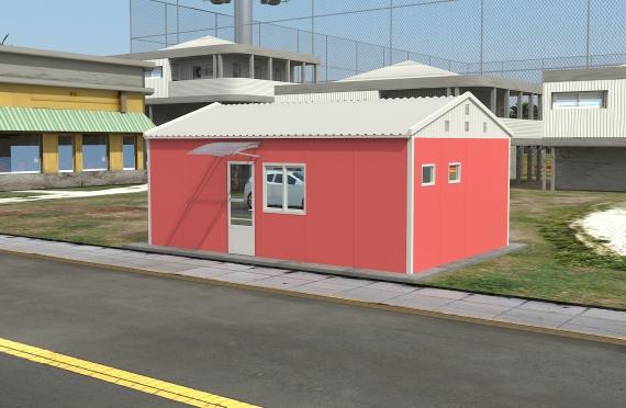 Edificio per ufficio modulare di 40 m²