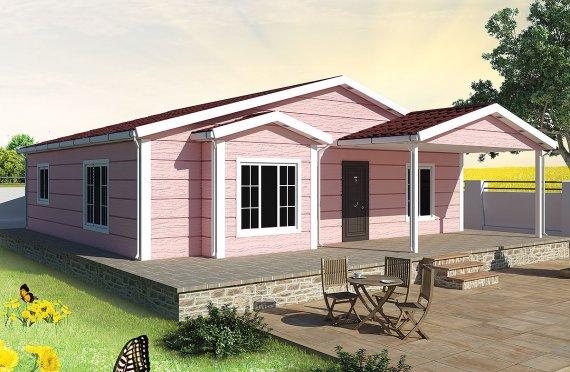 Casa prefabbricata 105 m²