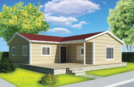 Casa prefabbricata 107 m²