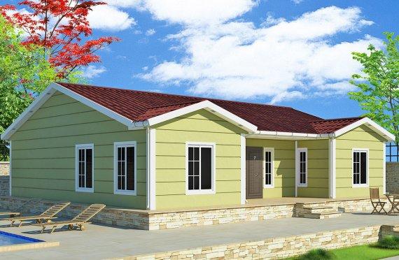 Casa prefabbricata 126 m²