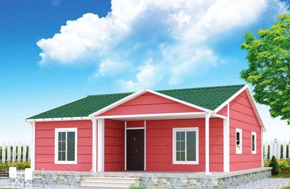 Casa prefabbricata 82 m²