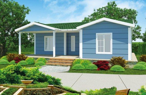 Casa prefabbricata 87 m²