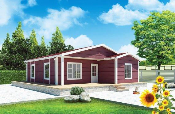 Casa prefabbricata da 88 m²