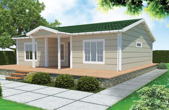 Casa prefabbricata 94 m²