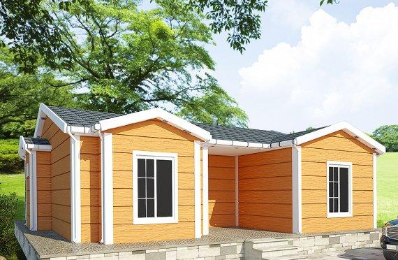 Casa prefabbricata di 98 m²