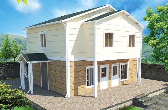 Casa prefabbricata 114 m²