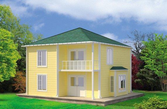 Casa prefabbricata 124 m²