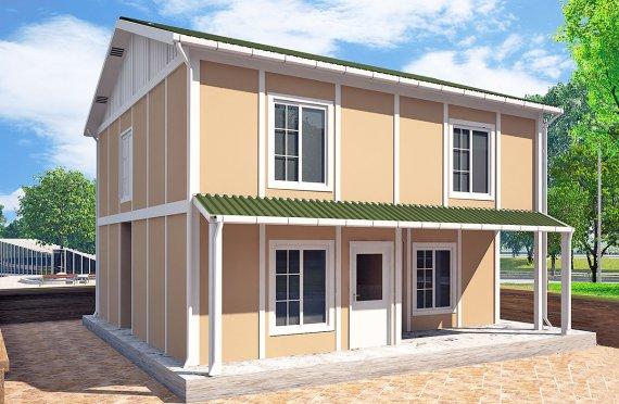 Casa prefabbricata 127 m²