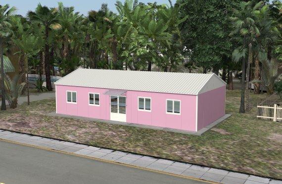 Edificio per ufficio modulare di 98 m²