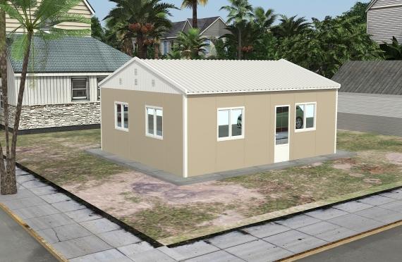 Edificio per ufficio modulare di 49 m²