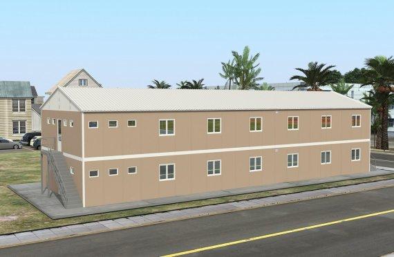 Alloggio modulare 474 m²