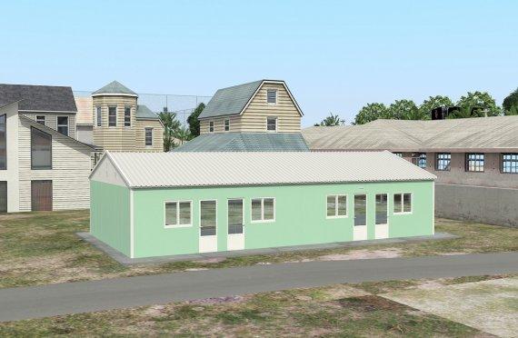 Alloggio modulare 117 m²
