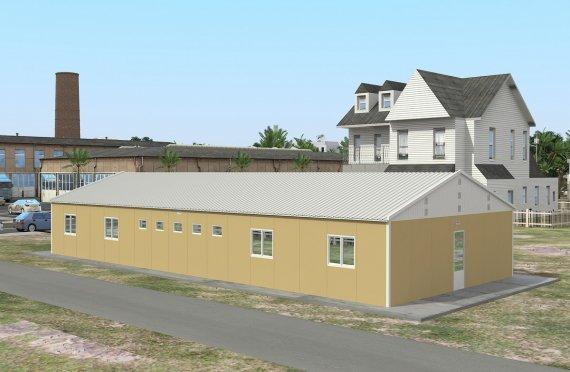 Alloggio modulare 193 m²