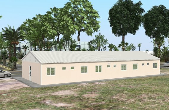 Alloggio modulare 204 m²