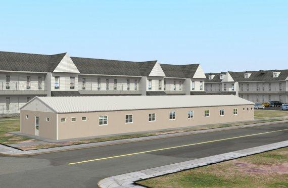 Alloggio modulare 339 m²