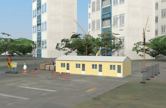 Alloggio modulare 79 m²