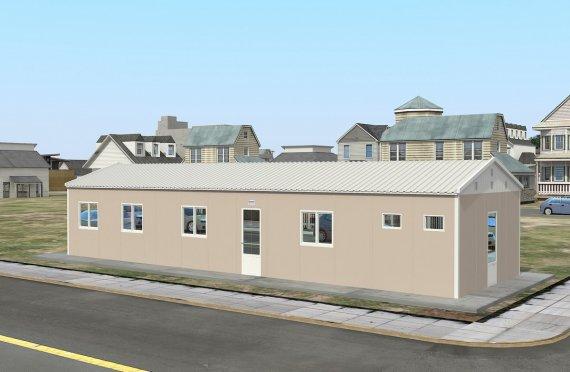 Alloggio modulare 86 m²