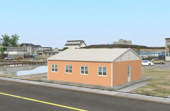 Alloggio modulare 91 m²