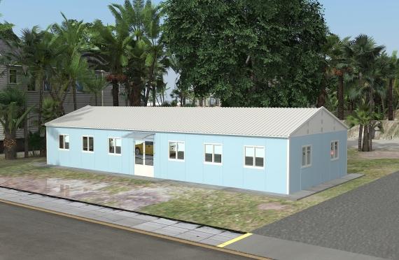Edificio per uffici modulare 146 m²