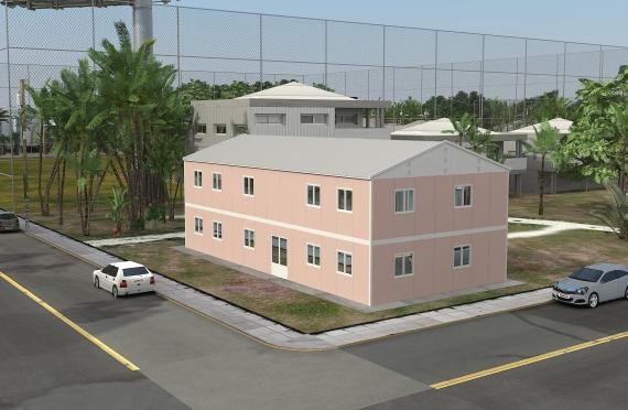 Edificio per uffici modulare 340 m²