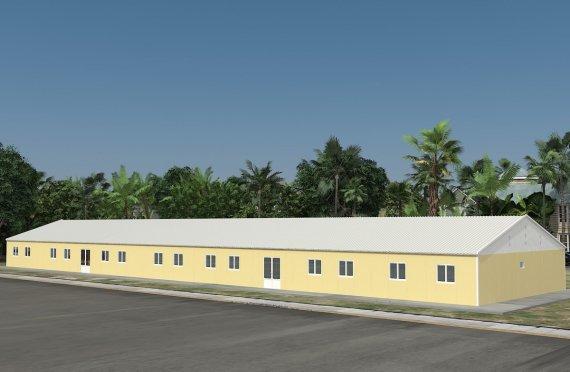 Aule portatili 681 m²