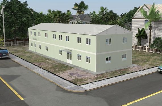 Edifici per uffici modulari 463 m²