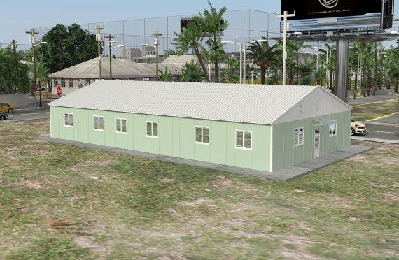 Edificio per uffici modulare 246 m²