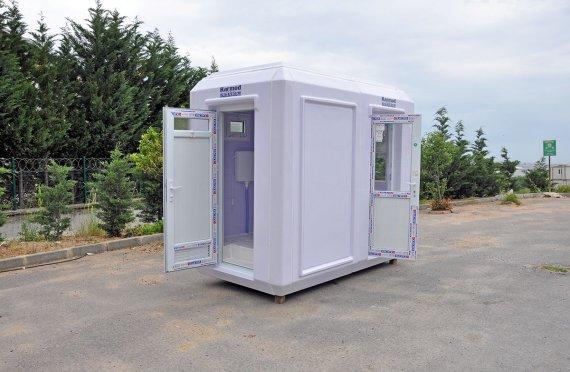 50x270 Cabina igienica e di sicurezza portatile