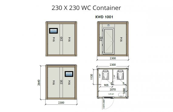 Kw2 230x230  Container wc