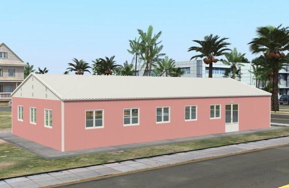 Cucina commerciale prefabbricata 170 m²