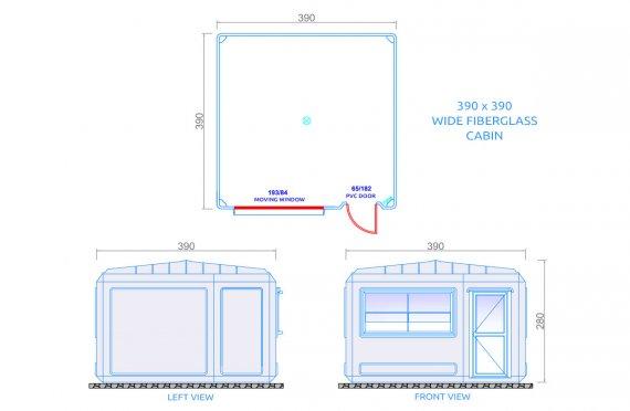 Edificio portatile 390x390