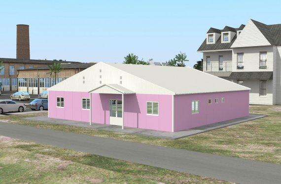Laboratorio modulare 222 m²
