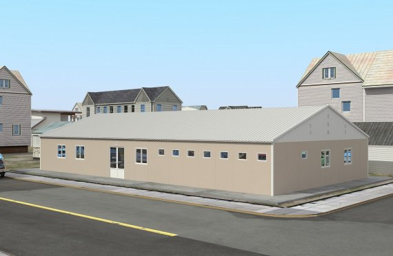 Ospedale modulare 275 m²