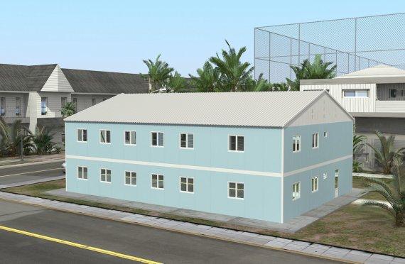 Ospedale modulare 506 m²