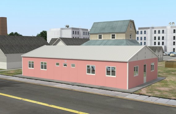Unità di alloggio modulare 148 m²