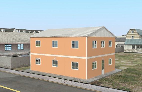 Alloggio modulare 206 m²