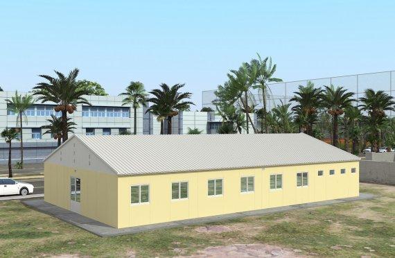 Alloggio modulare 232 m²