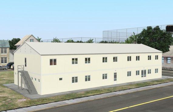 Unità di alloggio modulare 662 m²