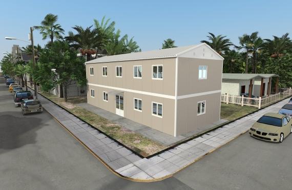Edificio per ufficio modulare 214 m²
