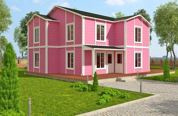 Casa prefabbricata  147 m²
