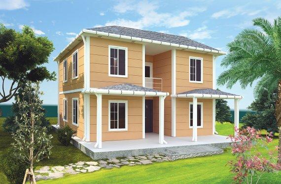 Casa prefabbricata 148 m²