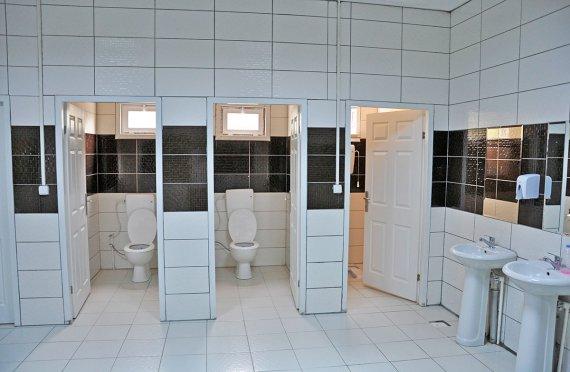 WC e doccia prefabbricati