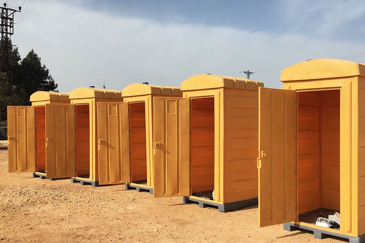 Toilettete mobili in plastica