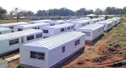 I campi di Karmod in Nigeria per le forze di pace delle Nazioni Unite