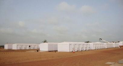 Karmod ha completato un sito di lavoro della  capienza di 250 persone in Somalia
