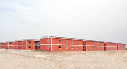 Karmod costruisce città prefabbricataper 10.000 persone in 7 mesi
